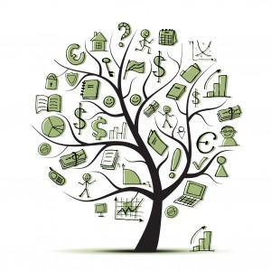 Penge på et træ